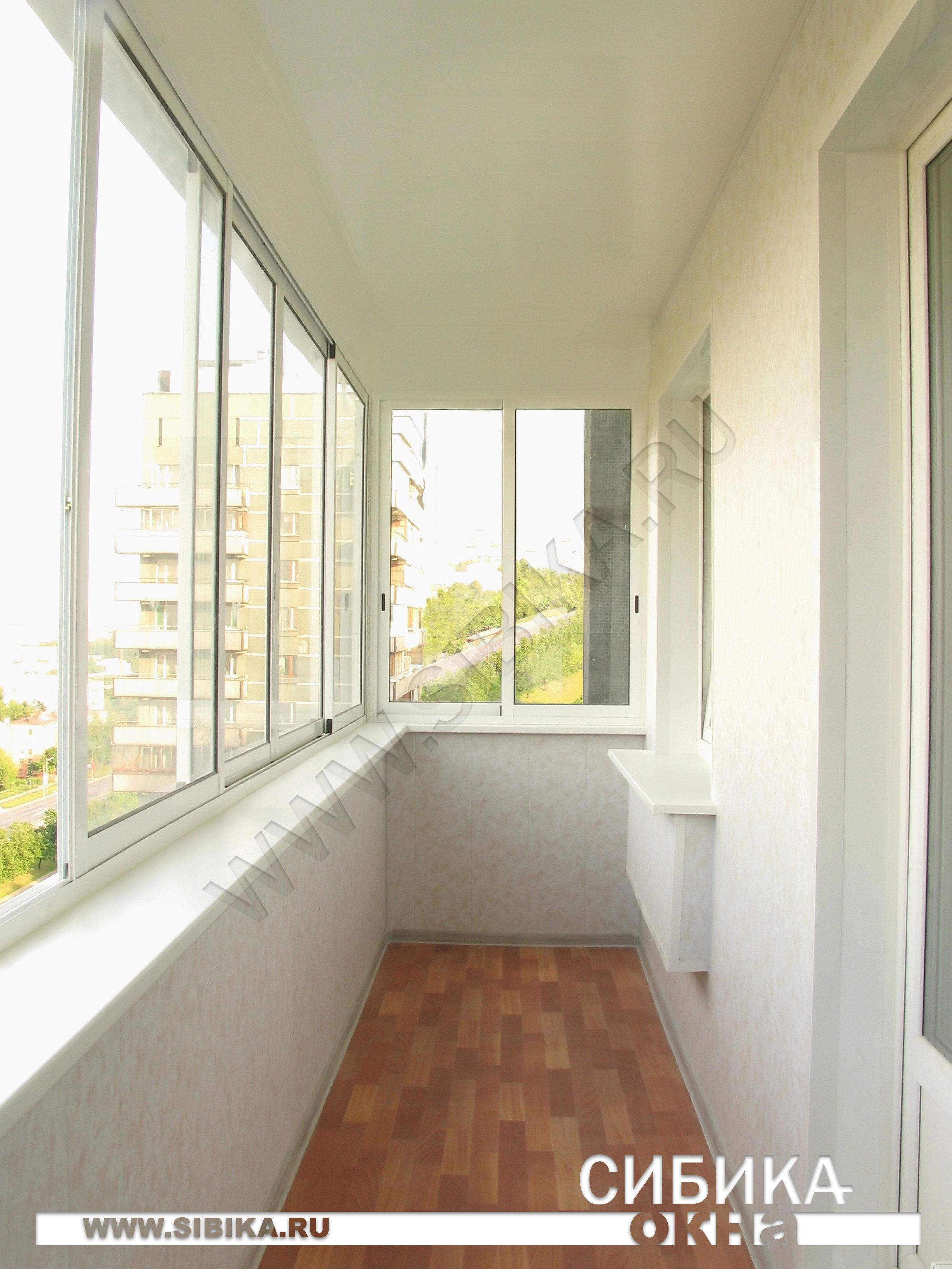 Внешняя отделка балкона в спб по выгодной цене.